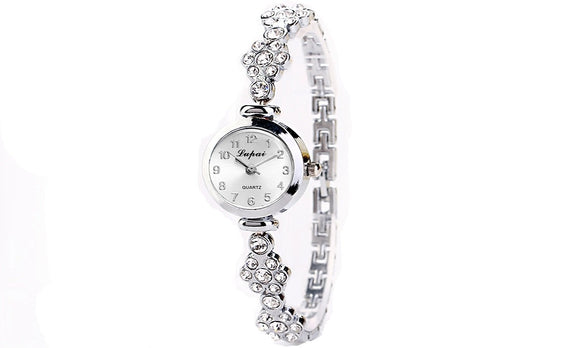 Diamond Bracelet Wrist Watch For Women