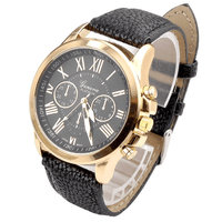 Men Casual  Fashion Roman Numerals Wristwatch and Best Watch for Men