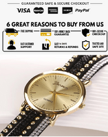 New wrist watch for women Retro Synthetic Leather Bracelet Watch For Women