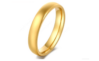 Stainless Steel 18k Gold Plated Ring For Women