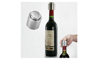 Stainless Steel Vacuum Sealed Red Wine Storage Bottle Plug Cap