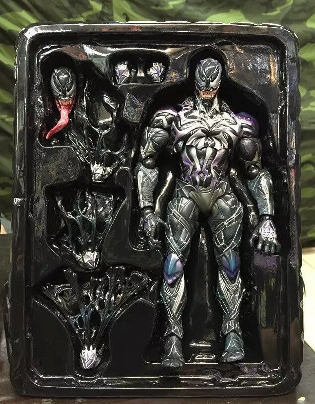 Marvel's Venom Symbiote Collectible Action Figure by PLAY ARTS (from Spider Man)