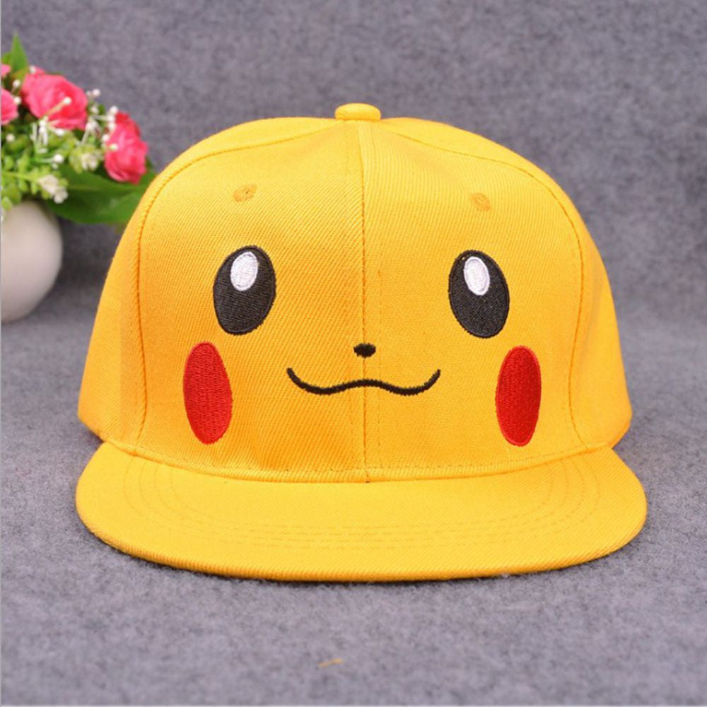 Currently Trending *Pokémon Go Pikachu Unisex Cotton Hats for Otaku and Anime Fans