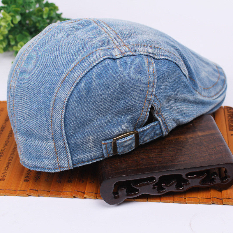 Currently Trending Denim Fashionable Summer Cap Men & Women's