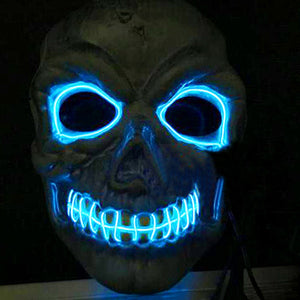 LED Mask Skull Skeleton