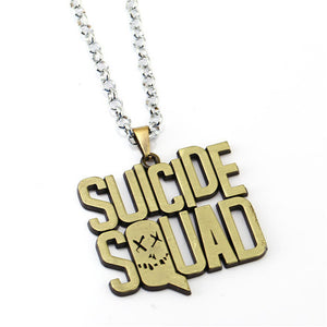 Currently Trending Suicide Squad Harley Quinn & The Joker Pendant Necklace for Men & Women
