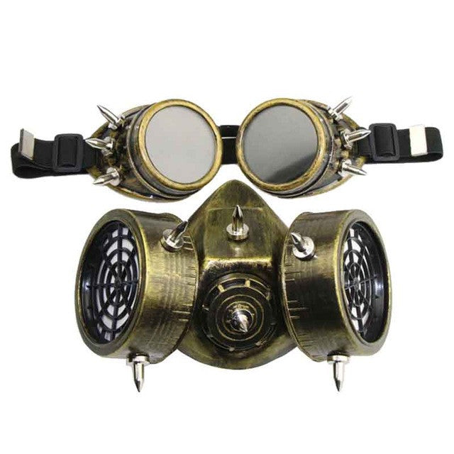 Wasteland Steampunk Mad Max/Burning Man Gothic Mask for Men & Women