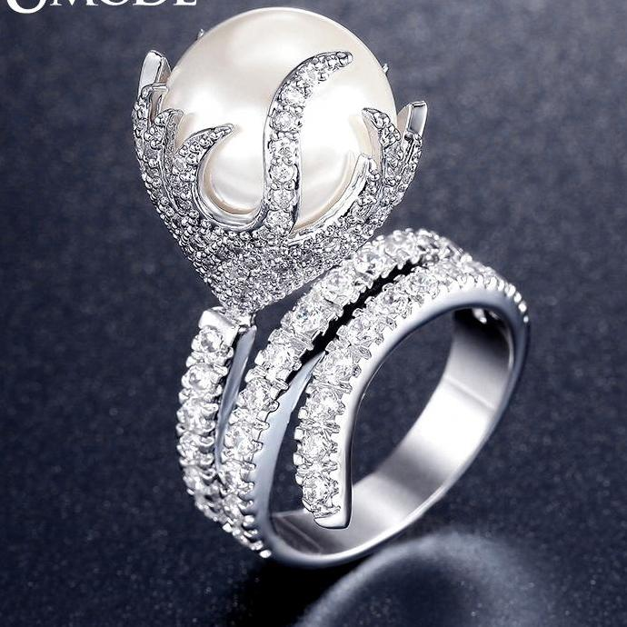 AAA Zircon Pave Luxury Rings