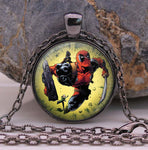 *Marvel Super Hero DEADPOOL Pendant Necklace