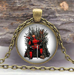 "*Marvel Super Hero DEADPOOL ""Game of Thrones"" Pendant Necklace"