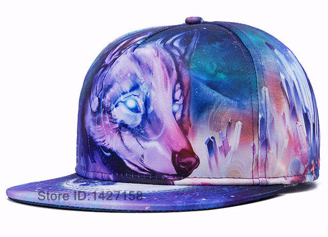 New 2017 3D Style Surreal Men's & Women's Fashionable Cap's