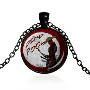 *2017 Deadpool Alloy Chain Pendant Necklace