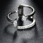 Irregular Design Female Finger Rings
