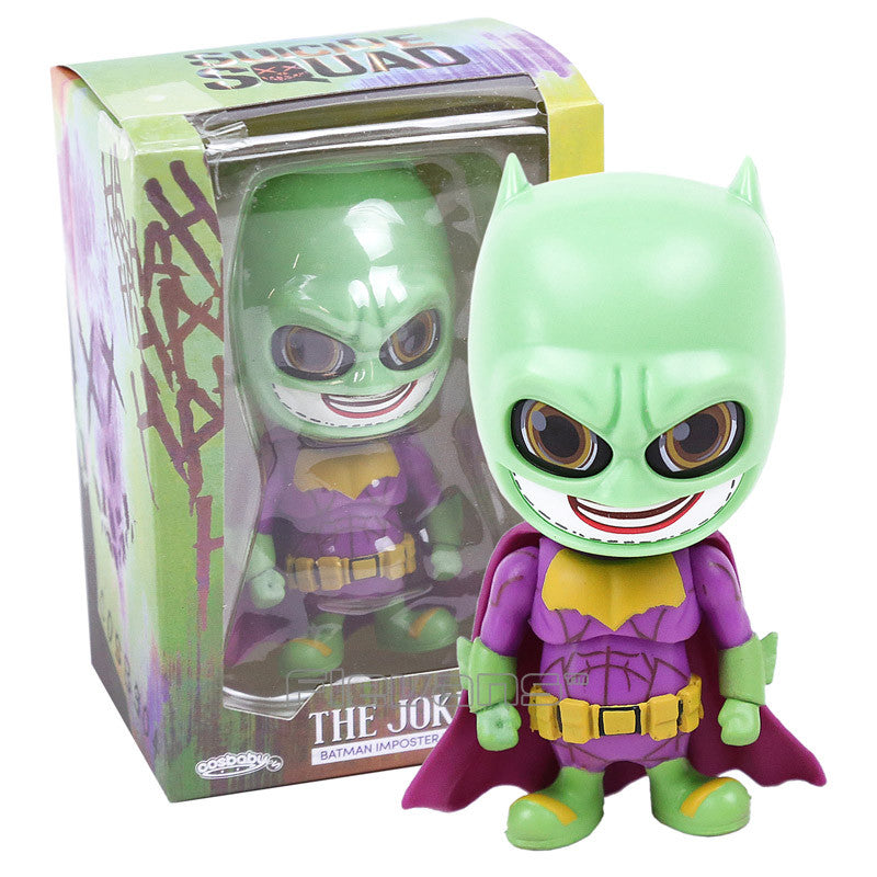 Suicide Squad The Joker - Batman Imposter Version PVC Action Figure Collectible Cosbaby