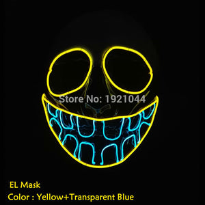 Halloween Buck Teeth Clown Mask