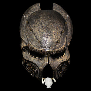 Predator Mask Resin Helmet Horror Mask for Halloween, Cosplay and Filming