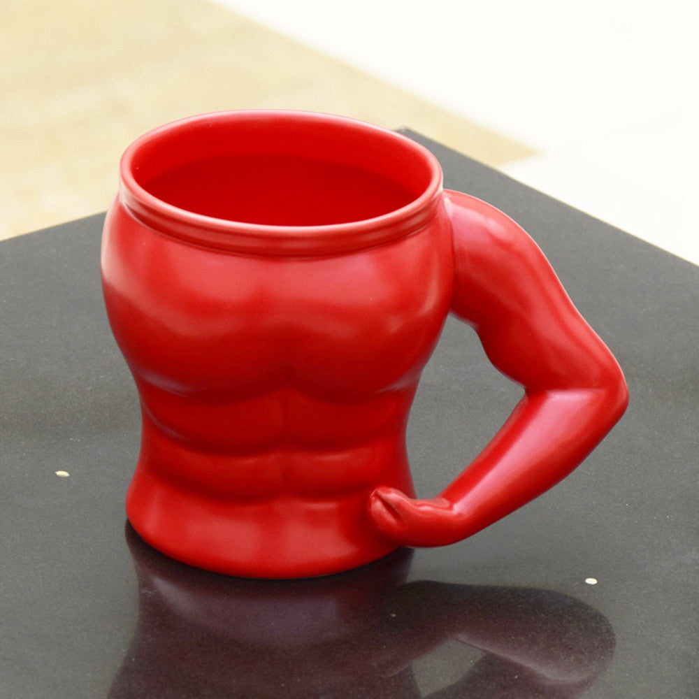 Currently Trending Modern Art Bodybuilder Mug Cup for Coffee and Tea