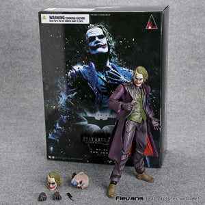 Batman The Dark Knight The Joker PVC Action Figure Collectible (by PlayArts) 21cm