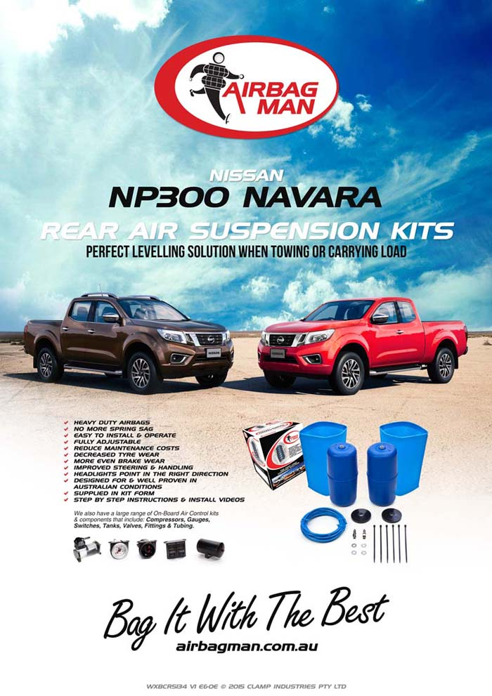 Nissan Navara Np300 Coil Sprung Ute Air Suspension Kits Now Available