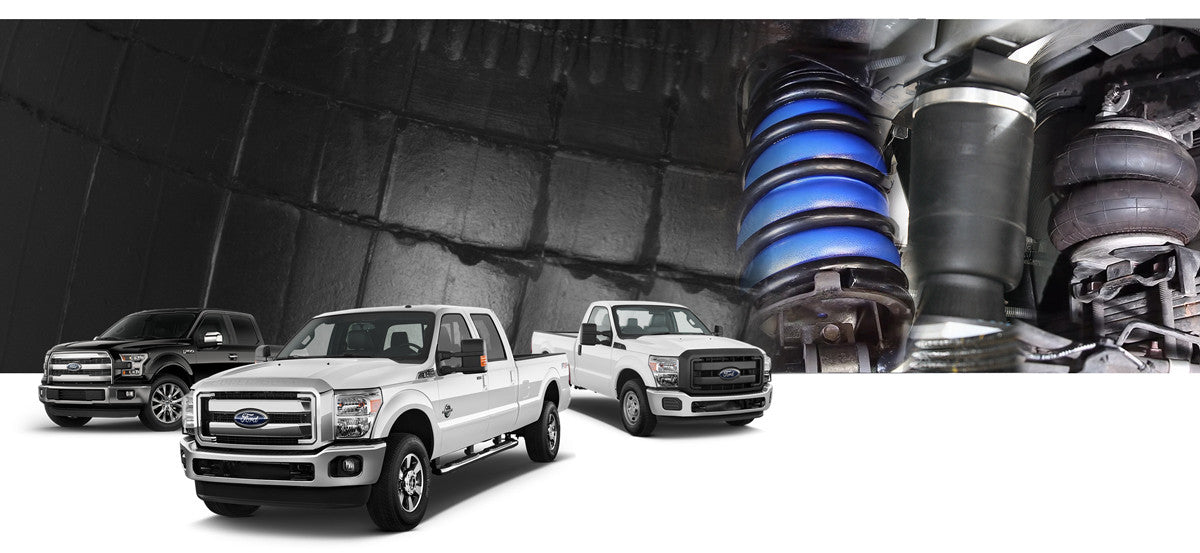 Ford F150, F250, F350 Airbag Suspension Kits