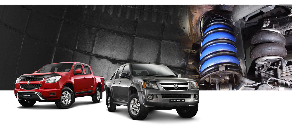 Holden Colorado Airbag Suspension Kits
