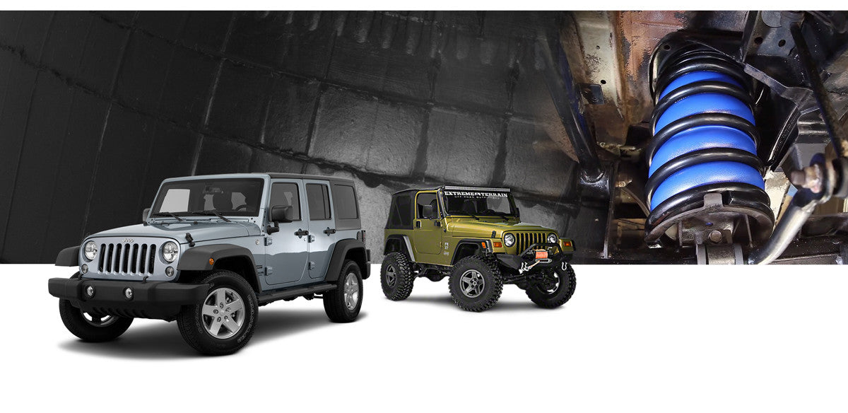 Jeep Wrangler Airbag Suspension Kits