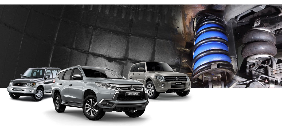 Mitsubishi Pajero Airbag Suspension Kits