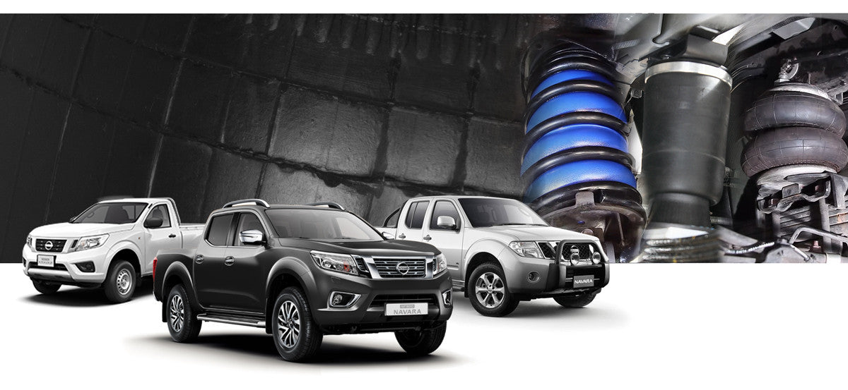 Nissan Navara Airbag Suspension Kits – Airbag Man Suspension