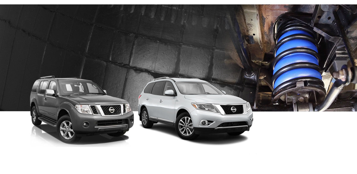 Nissan Pathfinder Airbag Suspension Kits
