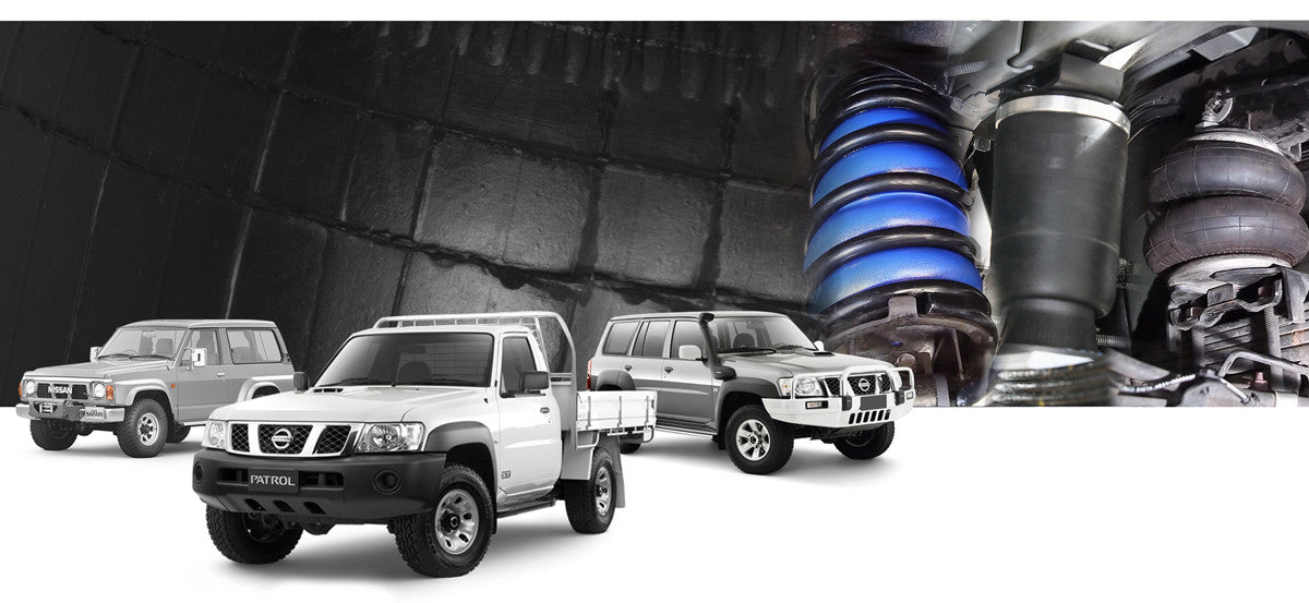 Nissan Patrol Airbag Suspension Kits