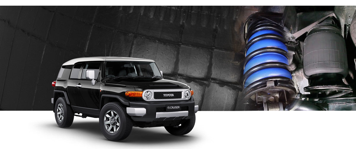 Toyota FJ Cruiser Airbag Suspension Kits