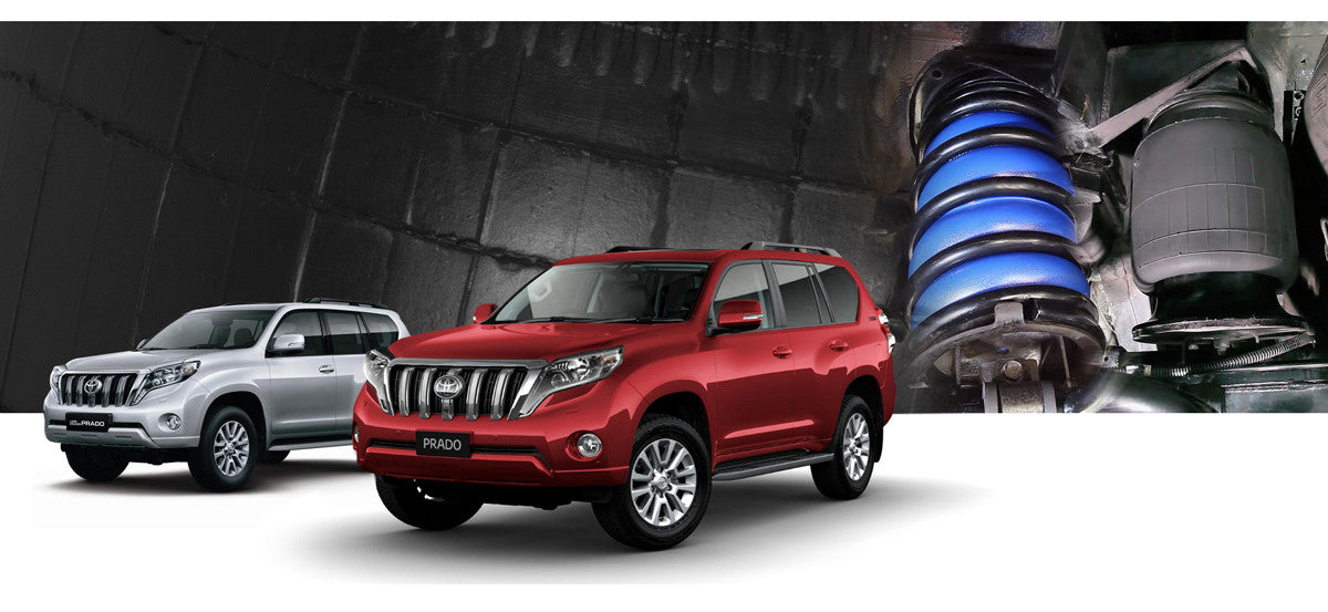 Toyota Prado Airbag Suspension Kits