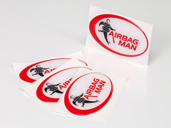 Airbag Man Logo UV Protected Car Sticker