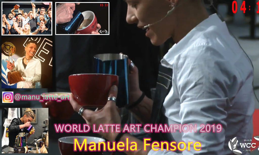 WORLD LATTE ART CHAMPION 2019