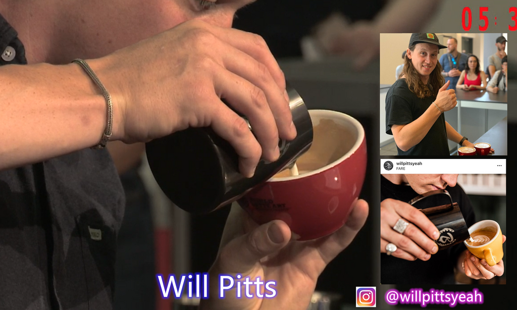 Will Pitts UK Latte Art Champion 2019