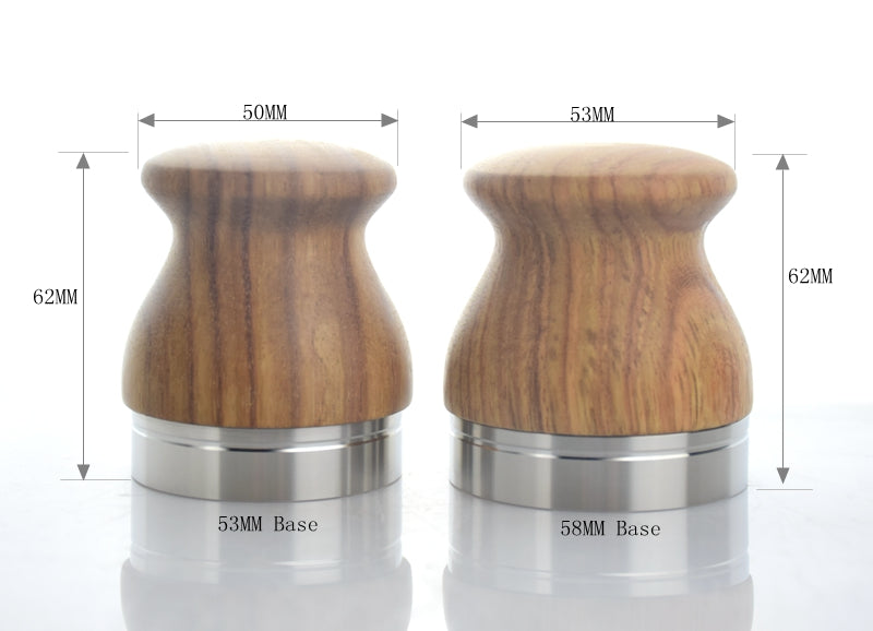 304 Stainless Steel Base coffee tamper