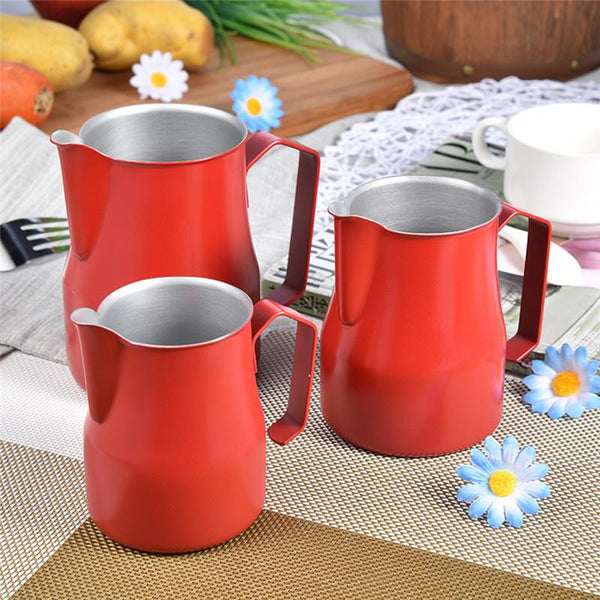 motta red milk jug