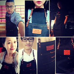 Custom Barista apron with customize logo