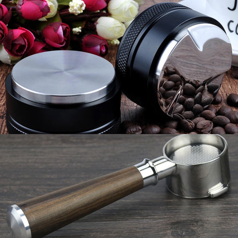 53mm COFFEE TAMPER & PORTAFILTER SET