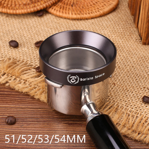 Coffee Espresso Magnetic  51/52/53/54 MM Dosing Funnels> Barista Space