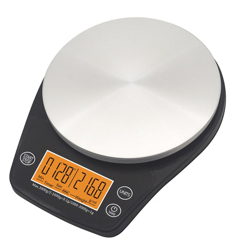 Mini V60 Coffee Drip Scale with Timer