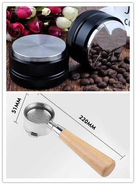 51MM PORTAFILTER AND TAMPER & DISTRIBUTOR SET