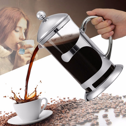 ESPRESSO FRENCH PRESS TEA MAKER POT BOWL R20 from baristaspace.com