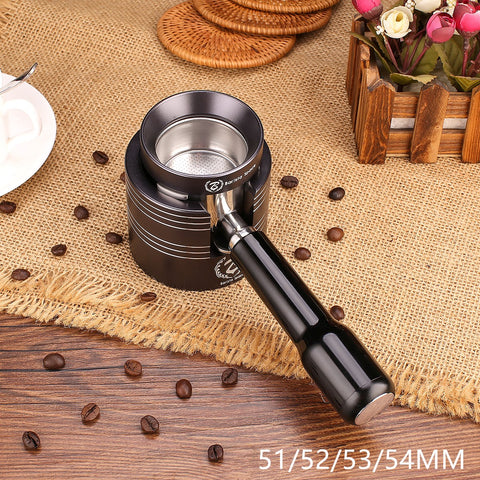 Coffee Dosing Funnel + Tamping Station Set 51/52/53/54 MM