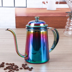 Stainless Steel Coffee Kettle 600ML Hot Water Server