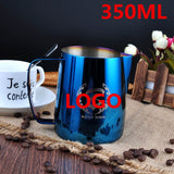 Customize Milk Frother Pitcher Jug