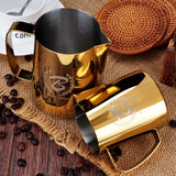 Latte Art Milk Steaming Pitcher jug - BaristaSpace 1.0 Gold