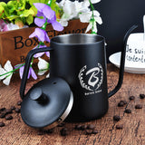 Coffee Kettle Stainless Steel tools for logo Customization 600ml