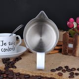 Marble Style Stainless Steel Milk Pitcher Jug-BaristaSpace 1.0 Plus