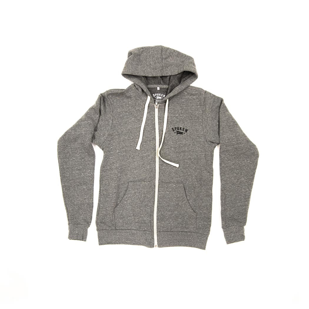 Classic Zip Up | Grey Tri-Blend